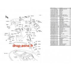 Coque milieu STX 900 06