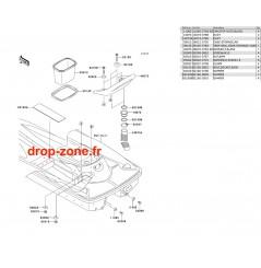 Coque arrière STX 900 06