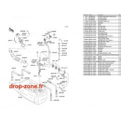 Réservoir carburant STX 900 06