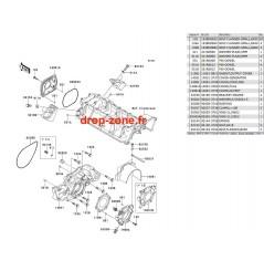 Couvercles moteur STX-15F 04-11/ Ultra LX 08-09/ STX-12F
