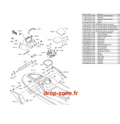 Coque milieu STX-15F 17-18