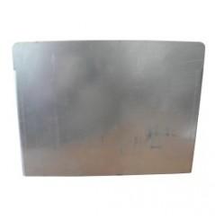 Support plaque minéralogique carré (210*130) pour B0560 avec brides 80*40