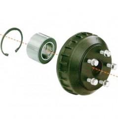 Tambour complet pour essieu compact 1600Kg Alko 5x140