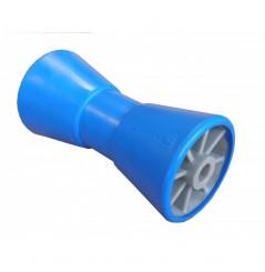 Bobine bi-matière 202x98 alésage 17 argent/bleu
