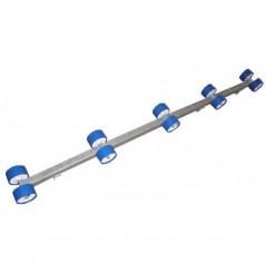 Rampe de rouleaux en 1.80m, 2 fixations (la paire) pour T3-J490-T1Jet-J570