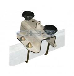 Support Roue de Secours entraxe 115mm pour tube H60 x L30