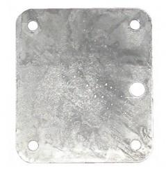 Contre plaque d'articulation timon en 80