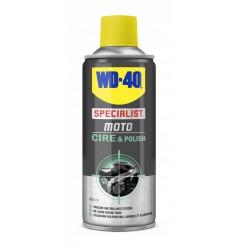 Spray WD 40 Moto Cire & Polish 400 ml