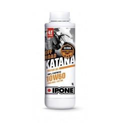 Huile IPONE 100 % Synthèse Katana Off Road 10w60 Spécial KTM/ HVA/ HSR/ WEBER 1 Litre