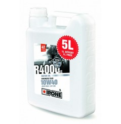 Huile IPONE Semi-Synthetique R4000 RS 10w40 5 Litres