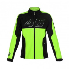 Veste VR46 Soft Shell Fluo Yellow 17