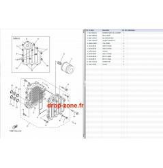 Refroidisseur huile FX HO 12-16/ FX HO Cruiser 12-16/ VXR 12-16/ VXS 12-15/ VX Cruiser HO 16