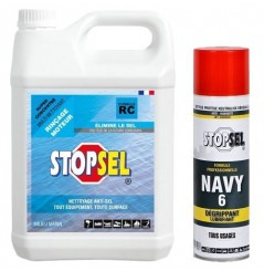 PROMO PACK NAVY 6 + STOPSEL RC 5L