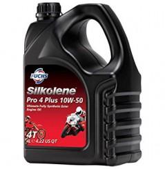 Huile 100% synthèse PRO 4 Plus 10W-50 en 4 litres