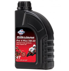 Huile 100% synthèse PRO 4 Plus 5W-40 en 1 litre
