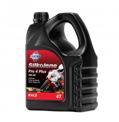 Huile 100% synthèse PRO 4 Plus 5W-40 en 4 litres