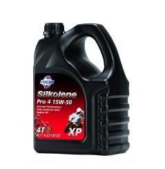 Huile 100% synthèse PRO 4 15W-50 XP en 4 litres