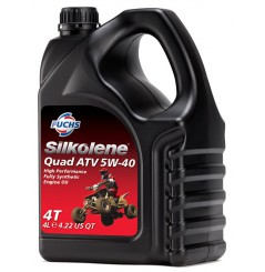Huile 100% synthèse QUAD ATV 5W-40 en 4 litres
