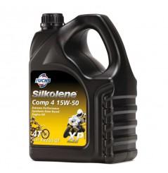 Huile base ester synthèse SILKO COMP 4 15W-50 XP en 4 litres