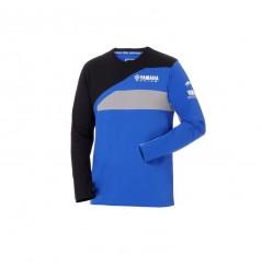 T-shirt manches longues Race homme Paddock Bleu