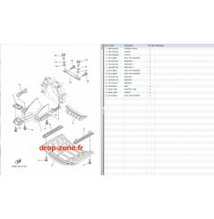 Plaque/ écope VXR 15-18/ VXS 15/ VX Cruiser H0 16-18