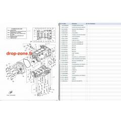 Carters/ cylindre V1 Sport 16/ VX Deluxe 16/ VX Cruiser 16
