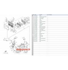Radiateur d'huile V1 Sport 16/ VX Deluxe 16-18/ VX Cruiser 16-18/ VX 18/ EX Sport 17-18/ EX Deluxe 17-18/ EX 18