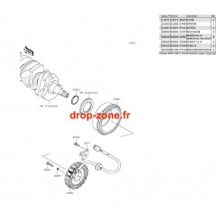 Générateur STX-15F 07-19/ Ultra LX 08-20/ SX-R 1500 17-20/ STX 160 20