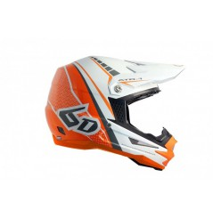 Casque cross 6D ATR-1 Edge Neon Orange White 18