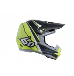 Casque cross 6D ATR-1 Edge Neon Citrus Grey 18
