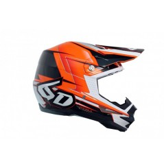 Casque cross 6D ATR-1 Sonic Orange Charcoal 18