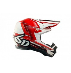 Casque cross 6D ATR-1 Sonic Red White Black 18