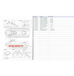Labels sécurité V1 Sport 16/ V1 15/ V1 Sport 15/ VX Cruiser 15/ VX Deluxe 15