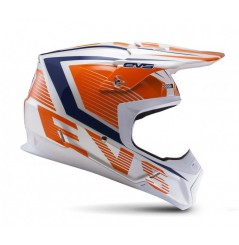 Casque Cross EVS T5 Vector Orange Blue