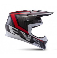 Casque Cross EVS T5 Vector Black Red