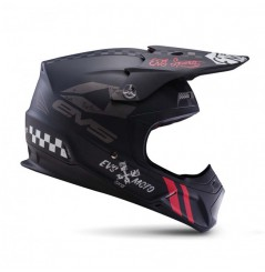 Casque Cross EVS T5 Fury Matte Black