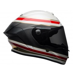 Casque BELL Race Star RSD Gloss/Matte White/Red Carbon Formula