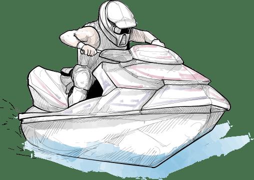 Drop Zone, la référence du Jet-Ski